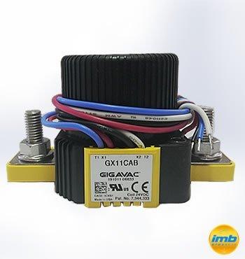 Gigavac GX26FBB Contactor 12-800VDC 600A 48VDC Coil